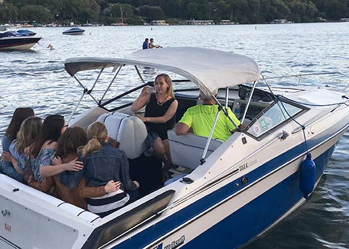 Sunset Lake Geneva Cruise