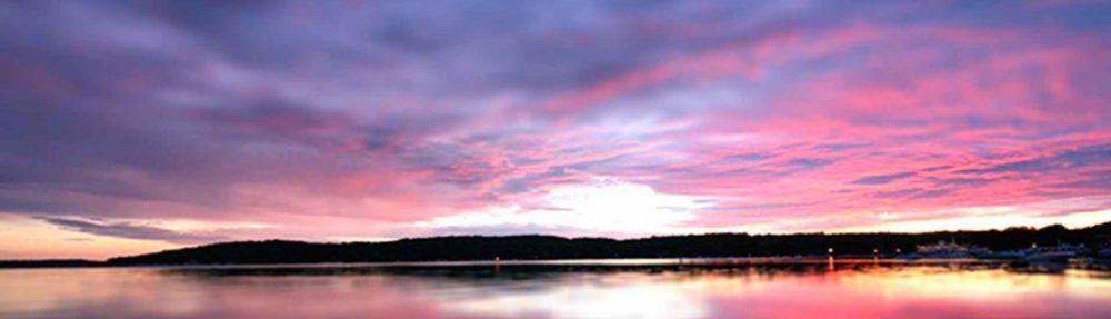 sunset Williams Bay