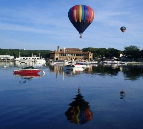 Ballons Lake Geneva